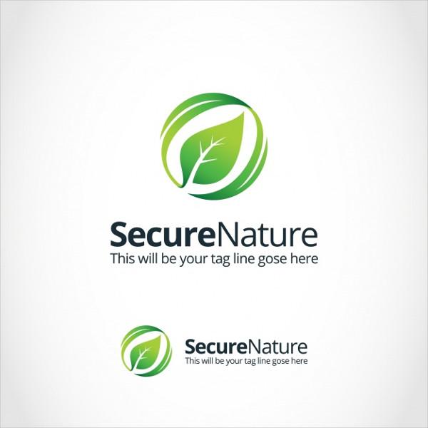 Free Nature Logo Template Design