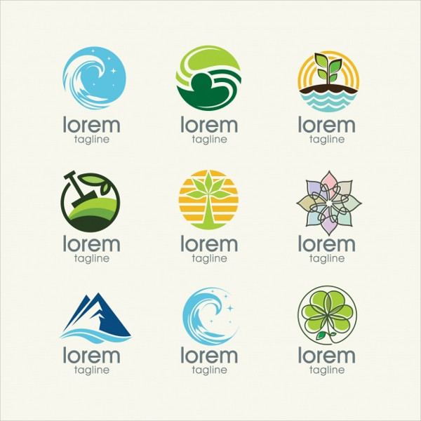 Nature Logo Templates Collection