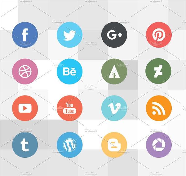 Nice Social Media Icons