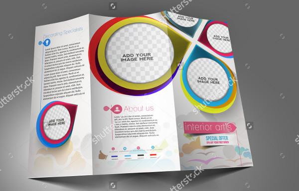 Tri-Fold Interior Designer Brochure