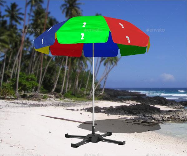 Outdoor Umbrella Mock-Up