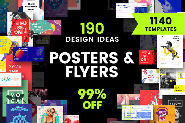 Party Flyer & Poster Design Templates