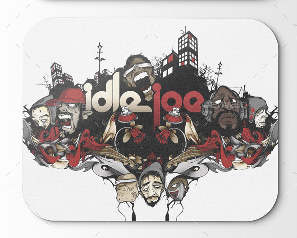 Perfect Mouse Pad Mock-Ups