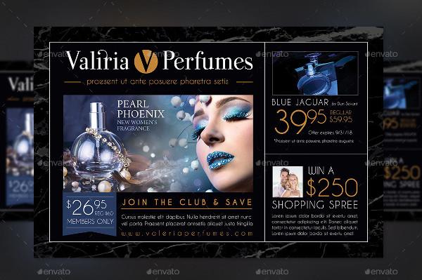 Perfume Club Flyer Template