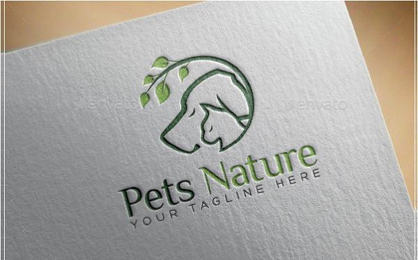 Best Pets Nature Logo Template