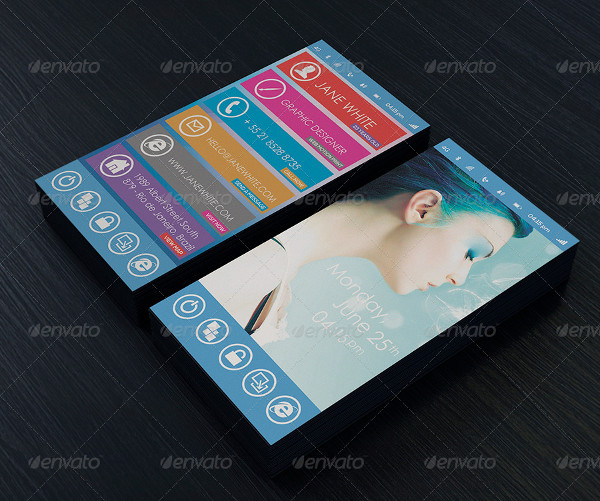 Phone Professional Business Card
