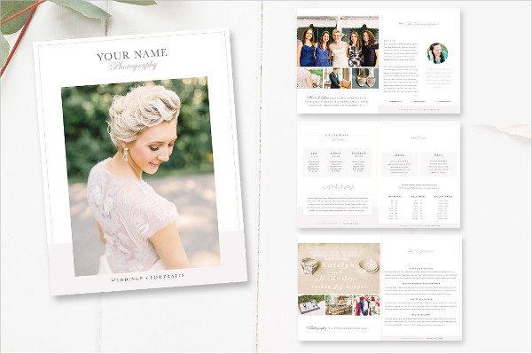 Bridal Photographer Magazine Template