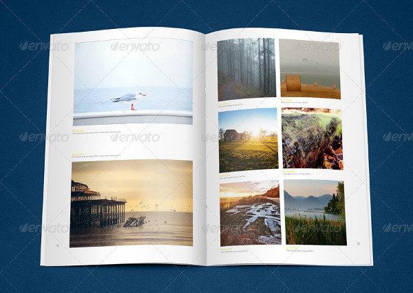 Photography Album or Magazine Template