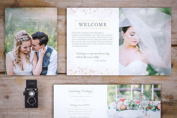 Wedding Photography Designed Magazine Template