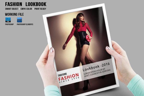 Fashion Photography Lookbook or Magazine Template