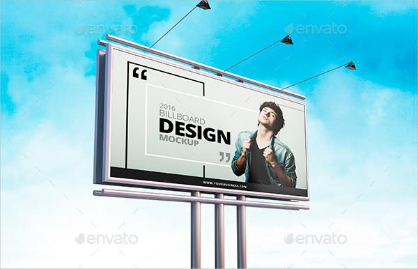 Photorealistic Billboard Mock-Up