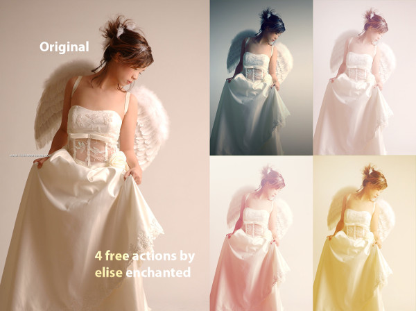 Free Photoshop Action for Wedding Photographers