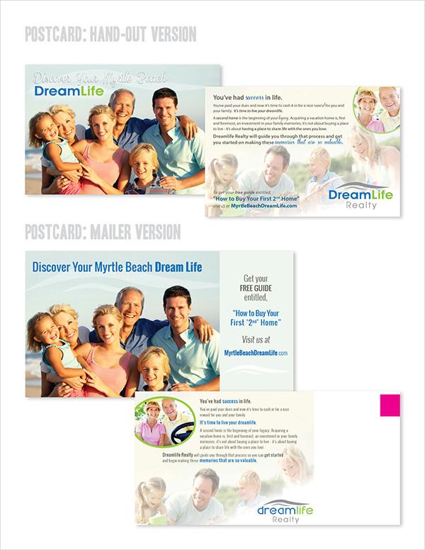 Photoshop Marketing Postcard