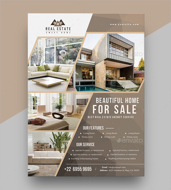 Real Estate Promoting Flyer