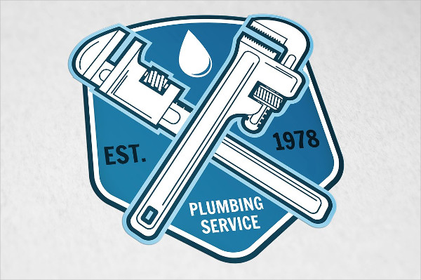 Plumbing Service Business Logo