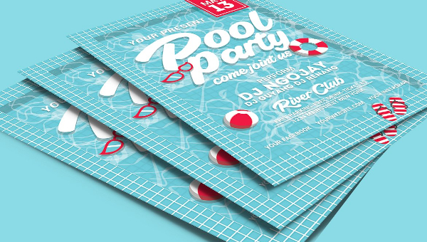 25+ Pool Party Flyers