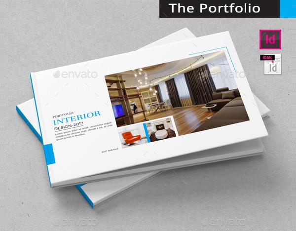 Portfolio Interior Design Brochure Template