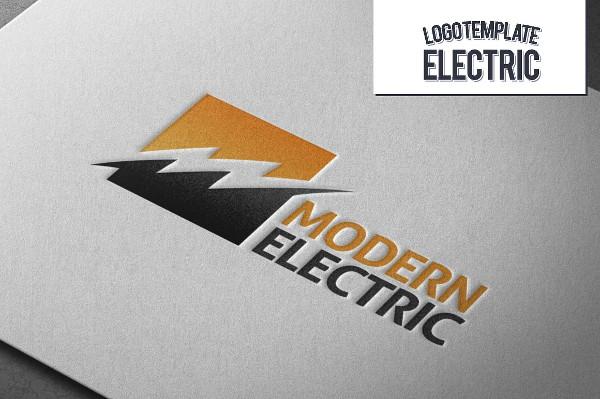 Fully Editable Electrical Logo
