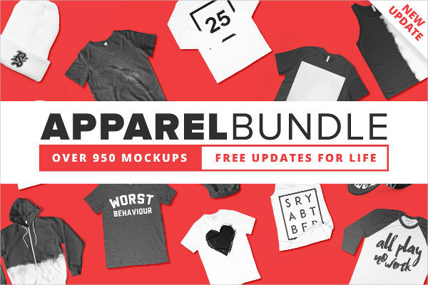 Premium Apparel Mockups Bundle