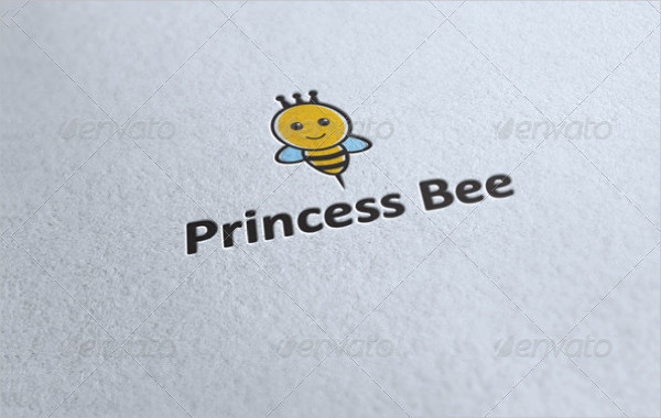 Excellent Logo of Princess Bee