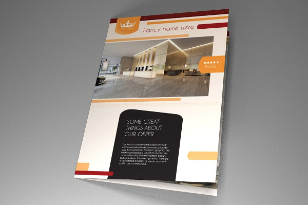 Print Ready Hotel InDesign Brochure Template