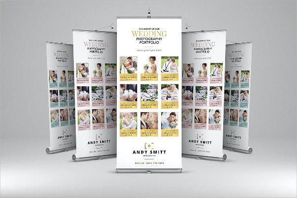 Printable Wedding Roll-Up Banner
