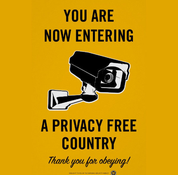 Privacy Country Poster