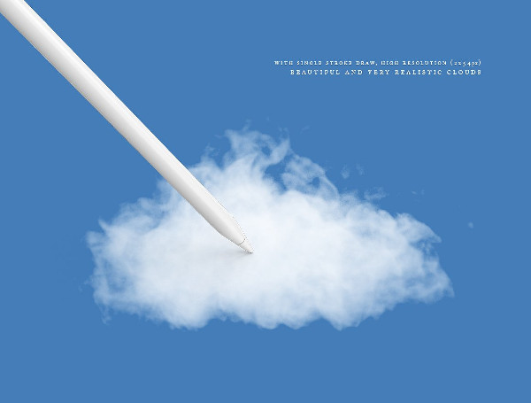 Cloud & Smoke Brush Collection