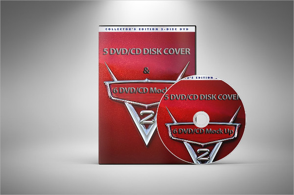 Professional DVD & CD Mockups