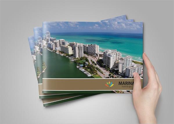 Professional Hotel Brochure Template