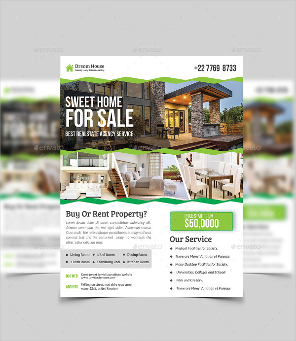 Real Estate Agency Service Flyer