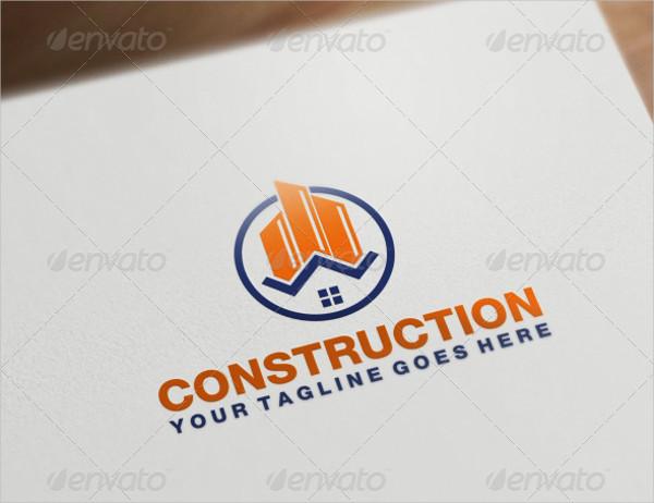 Best Construction Logo Template
