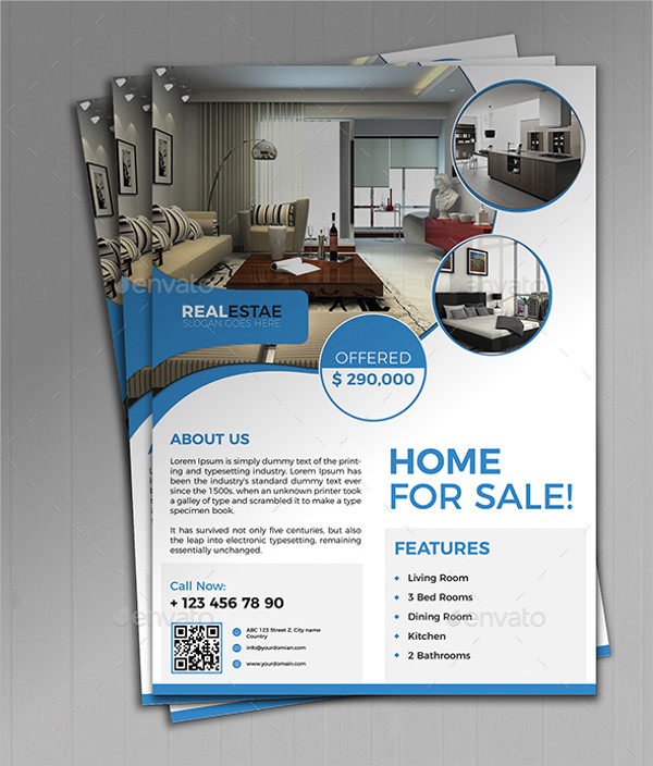33 real estate flyer templates free premium download