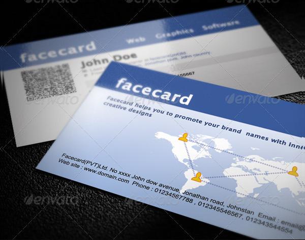 Quick Responsive Facebook Business Card