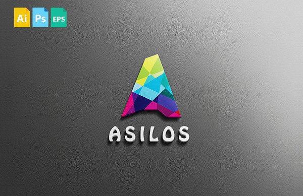Stylish Target Rainbow Logo