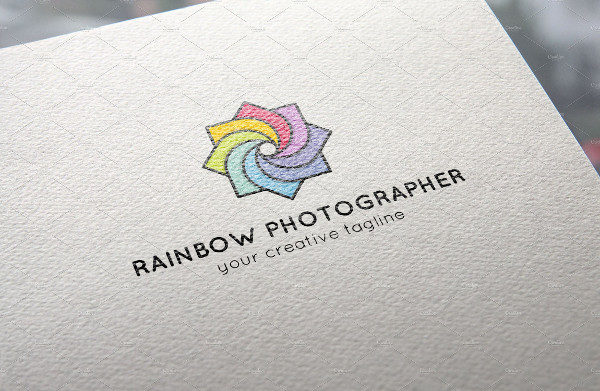 Rainbow Photography Logo