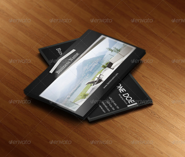 Clean Real Estate Business Card Template