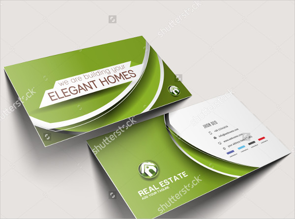 25 Real Estate Business Card Templates Free Premium Download