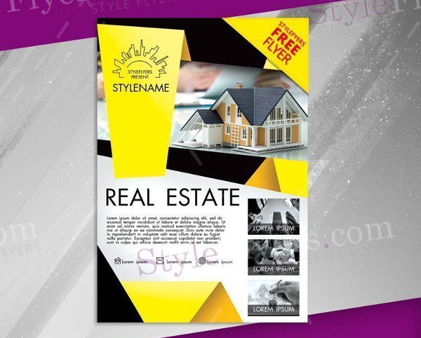 Real Estate Free Flyer PSD