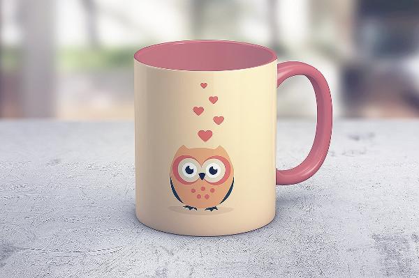 Realistic Coffee Mug Mockup