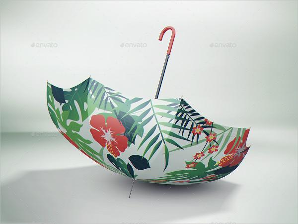 Realistic Umbrella Mockup