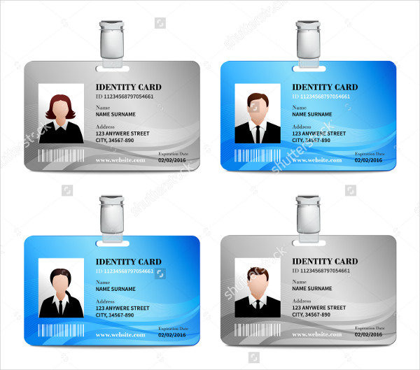29 customizable id card templates free premium download realistic user id card templates cheaphphosting Images