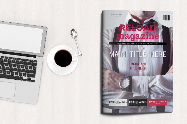 Modern Reload Life & Style Magazine Template