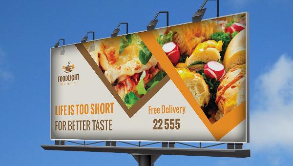 Billboard Template | 21 Restaurant Billboard Templates Free Psd Ai Eps Format Download