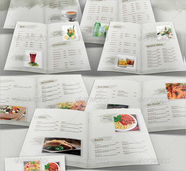 27+ Restaurant Menu Templates - Free & Premium Download