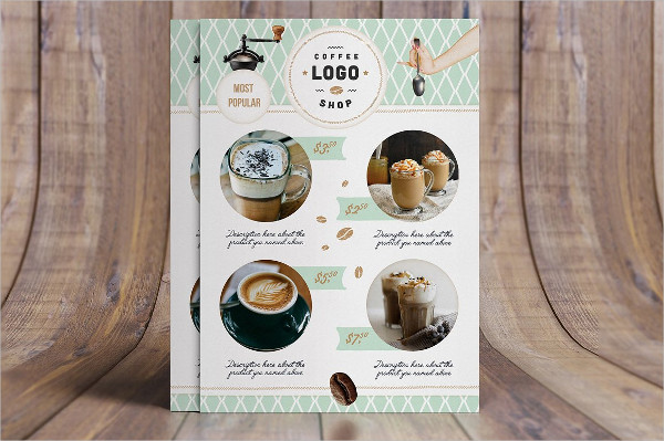 Retro Coffee Shop Menu Template