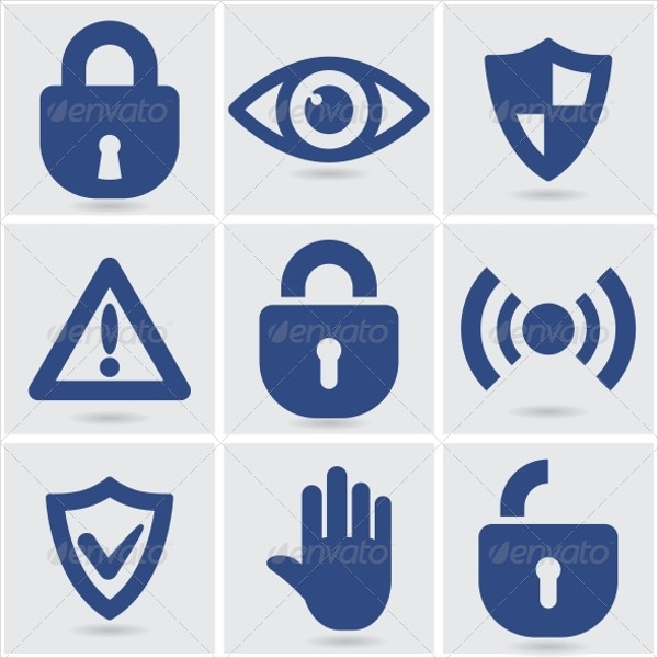 Set of Security Vector Icons