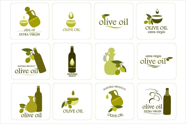 Customizable Olive Oil Label Template