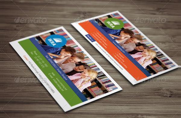 School Book Business Card