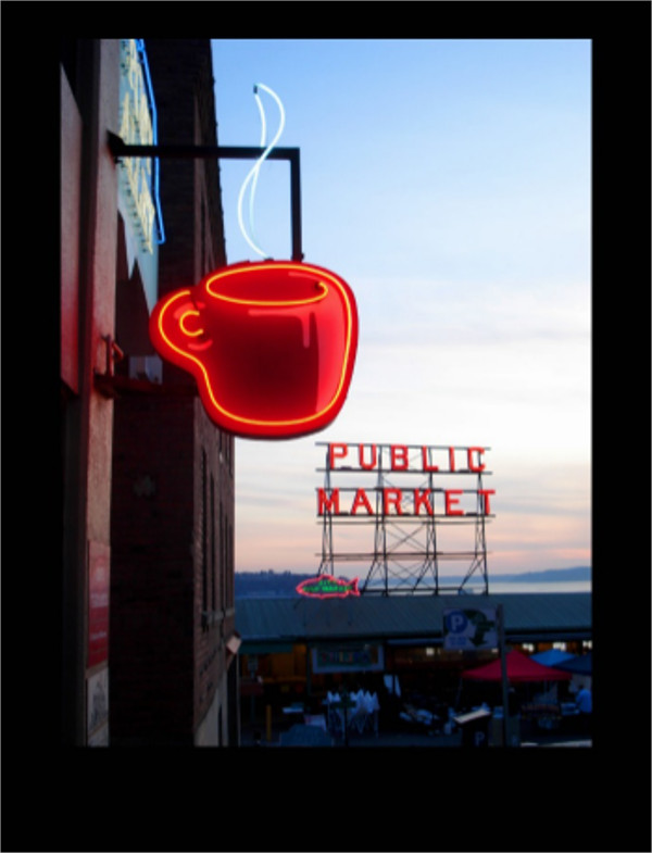 Seattle Public Marketing Postcard